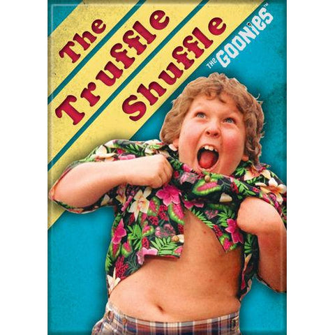 The Goonies: Truffle Shuffle Magnet - National Comedy Center