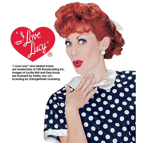 I Love Lucy Adult Wig - National Comedy Center