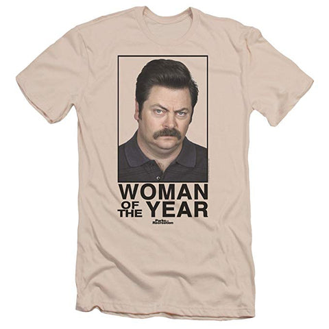 Parks & Recreation: Woman of the Year T-Shirt - The Comedy Shop