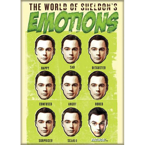 The Big Bang Theory: World of Sheldon Magnet - National Comedy Center