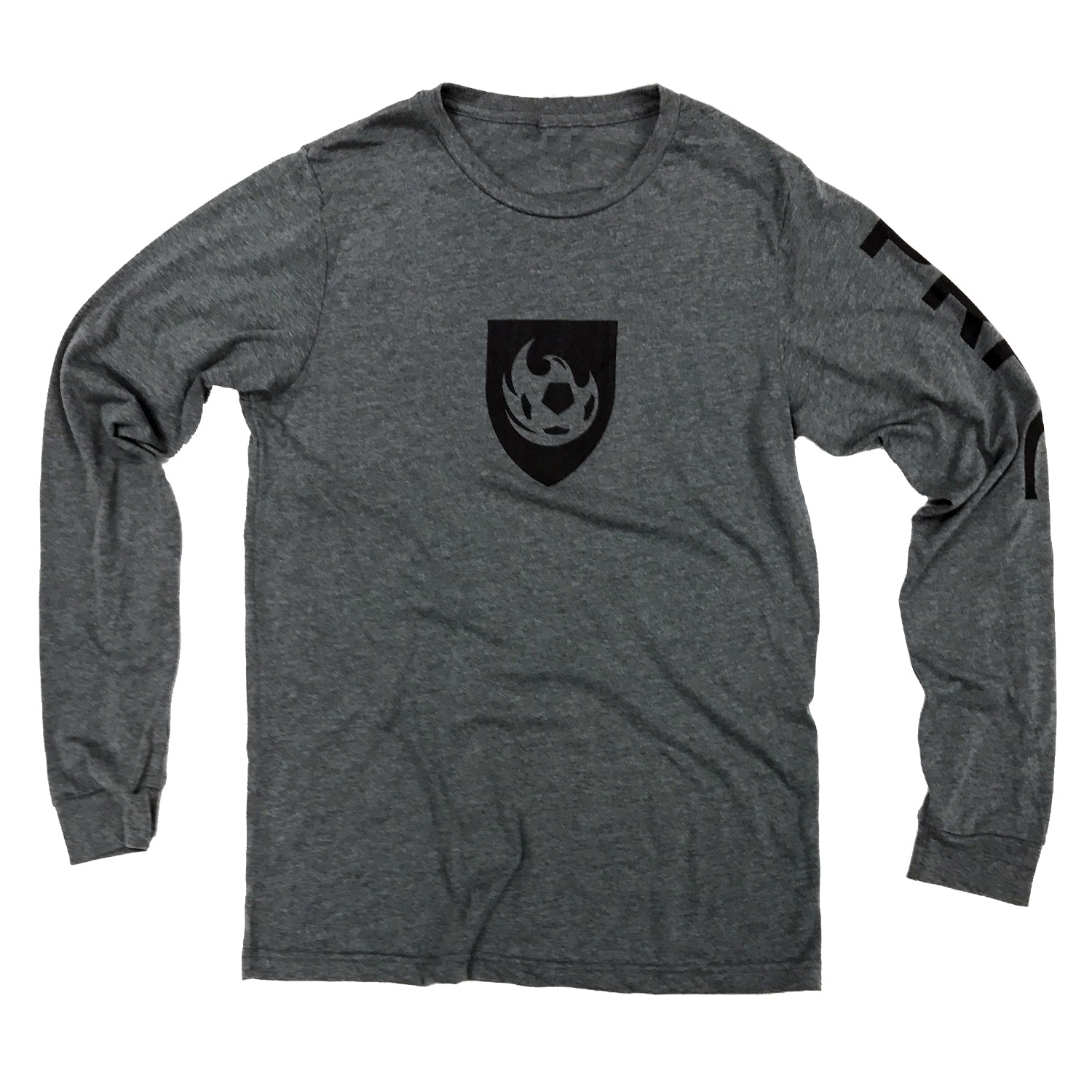 Phoenix Rising Men's Long Sleeve Tee - Grey