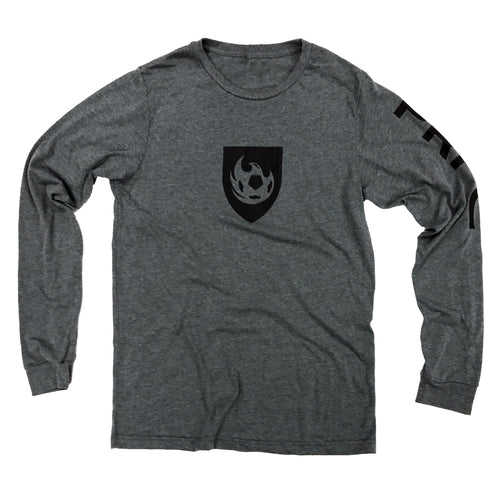 Phoenix Rising Men's Kimball Concepts Long Sleeve Tee - Grey