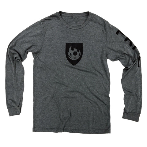 Phoenix Rising Copper Shield Tee - Black