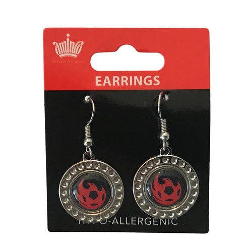 Phoenix Rising Aminco Dimple Earrings