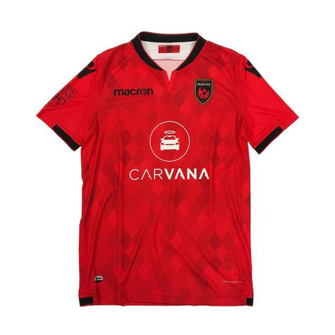 Phoenix Rising Youth Alt Away Macron Jersey - Black