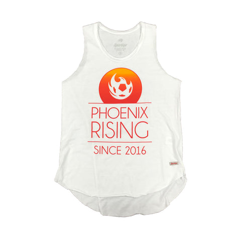 Phoenix Rising Women's Copper Logo Tank - Black