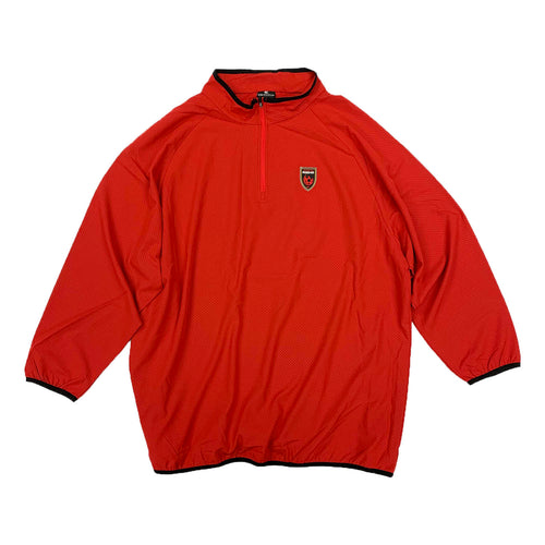 Phoenix Rising Colosseum Chalmers 1/4 Zip Windshirt - Red