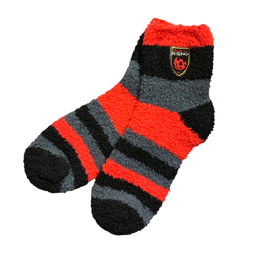 Phoenix Rising For Bare Feet Rainbow Sock