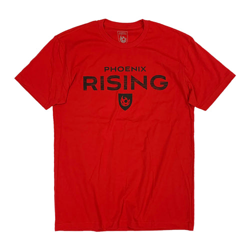 Phoenix Rising Listed Tee - Red