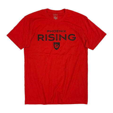 Phoenix Rising On The Pitch Tee - Black