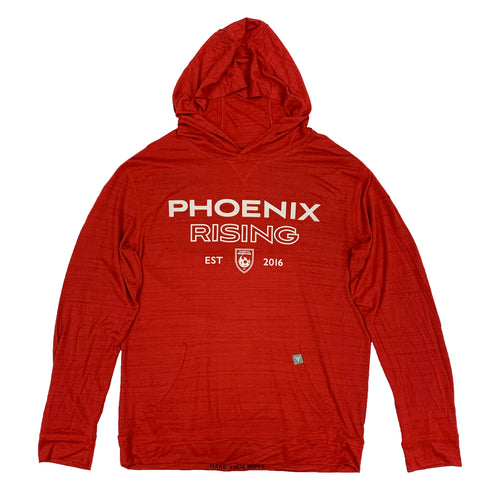 Phoenix Rising Levelwear Wordmark Anchor Hoodie - Red