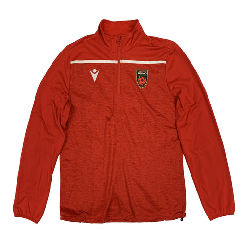 Phoenix Rising Macron 2020 Training 1/4 Zip Pullover - Red