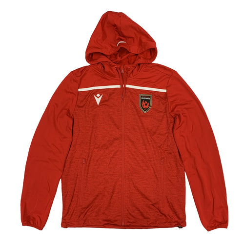 Phoenix Rising Macron 2020 Training Full Zip Hoodie - Red