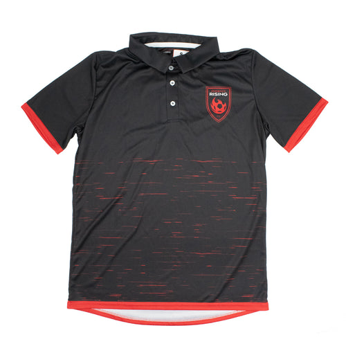 Phoenix Rising YBA Back To Black Polo - Black