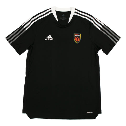 Phoenix Rising Adidas Black Shield Tee