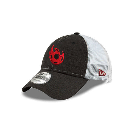 Phoenix Rising Ball Logo New Era Trucker 9FORTY - Charcoal