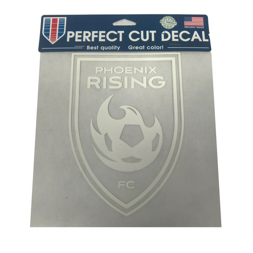 Phoenix Rising Wincraft 8x8 White Decal