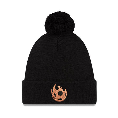 Phoenix Rising New Era Copper Ball Pom Cuffed Knit - Black