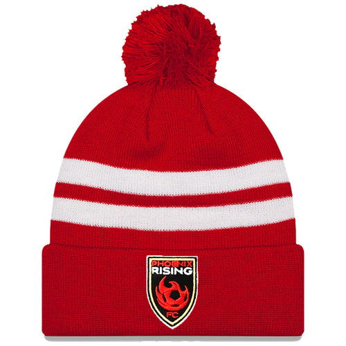 Phoenix Rising New Era Ball Striped Knit - Red