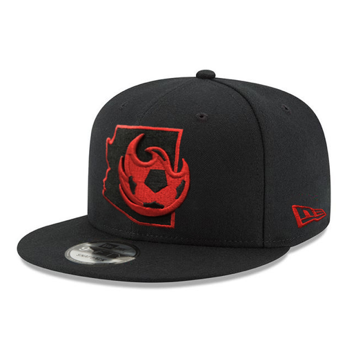 Phoenix Rising Native State Outline New Era 9FIFTY - Black