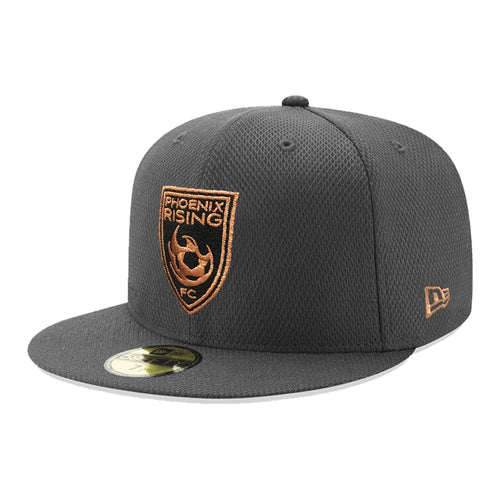 Phoenix Rising New Era Diamond Era Copper Shield 59FIFTY - Graphite