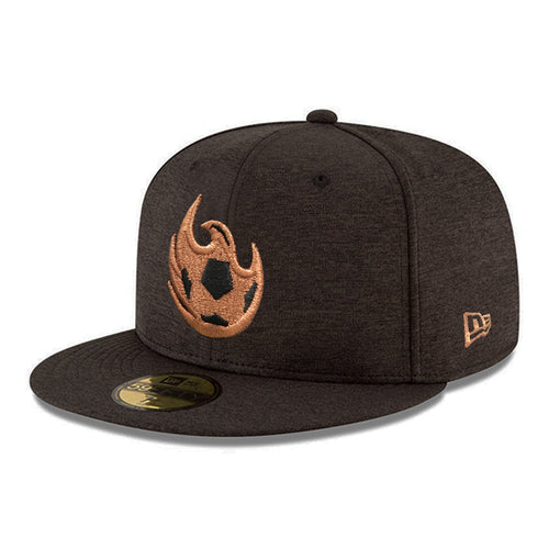 Phoenix Rising New Era Shadow Tech Copper Ball 59FIFTY - Black