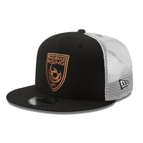 Phoenix Rising New Era Diamond Era Copper Shield Trucker 9FIFTY - Black