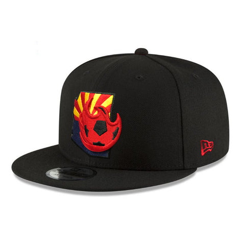 Phoenix Rising New Era Kids Red Logo Shadow Tech 9FORTY - Gray