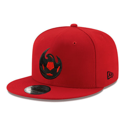 Phoenix Rising New Era Red Crest 39THIRTY - Heather