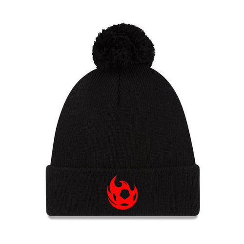 Phoenix Rising New Era Ball Pom Knit - Black