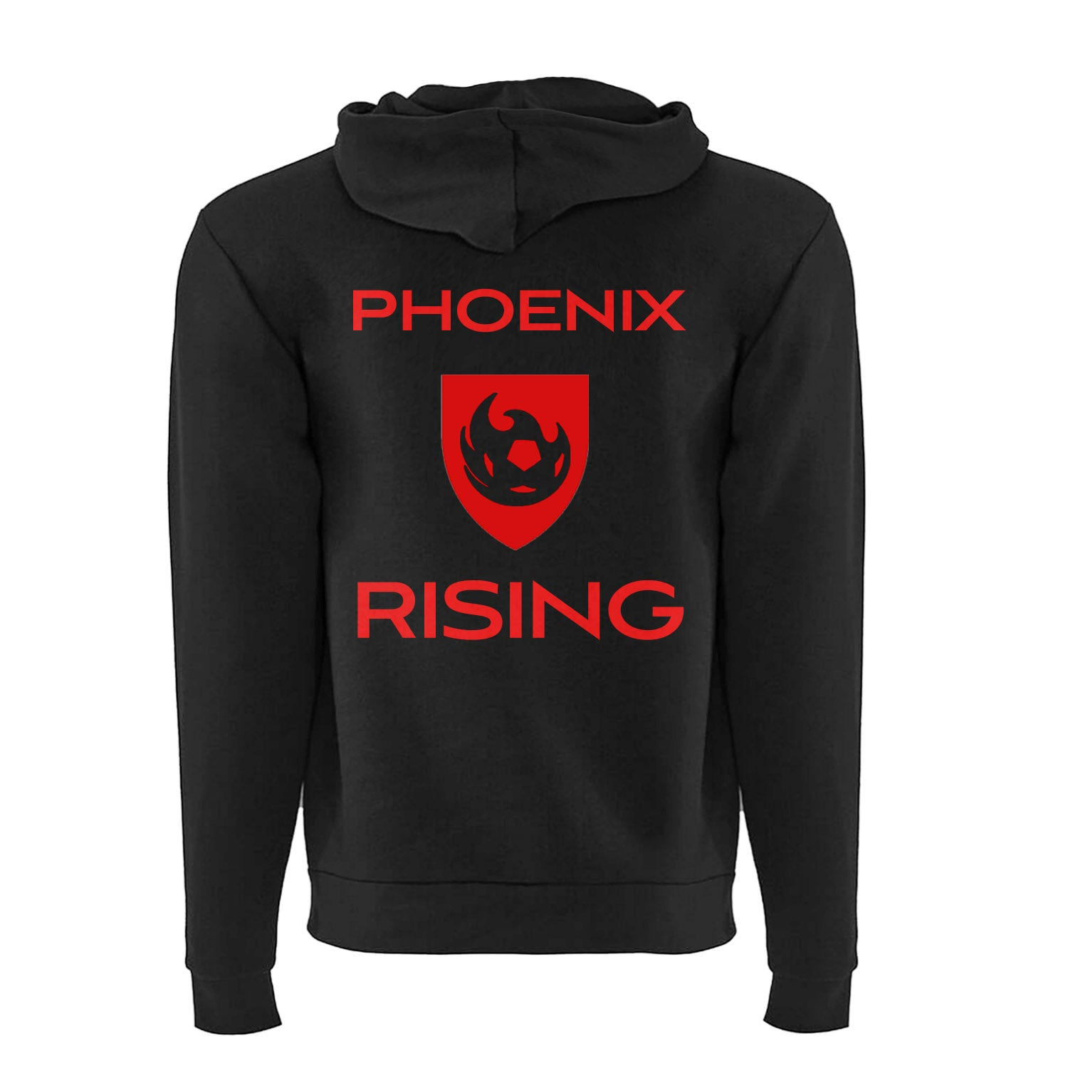 Phoenix Rising Women's Full Zip Hoodie - Black