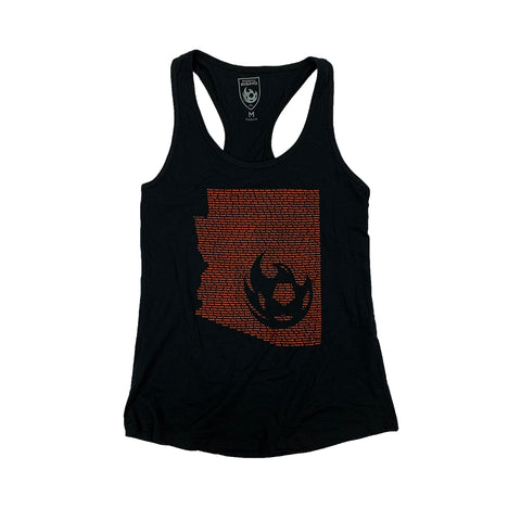 Phoenix Rising Women's Sportiqe Established Tank - Black