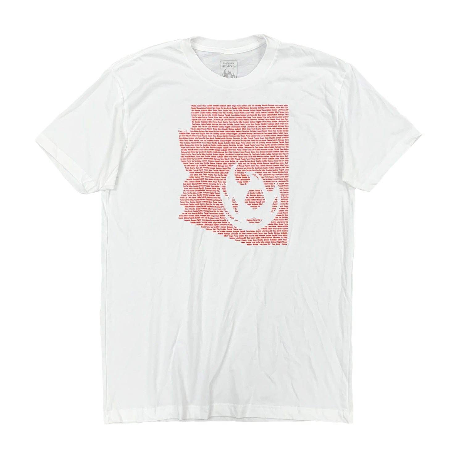 Phoenix Rising All In Tee - White