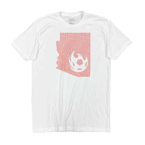 Phoenix Rising Crosshairs Tee - Red