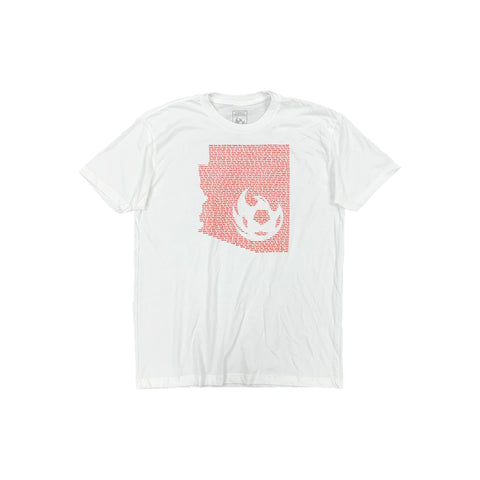 Phoenix Rising Youth Levelwear Flag Richmond Tee - Red