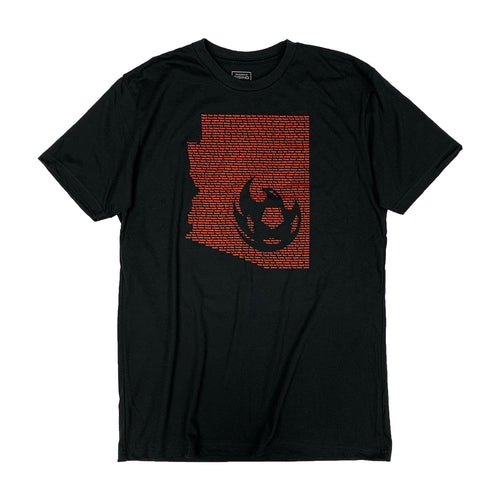 Phoenix Rising All In Tee - Black