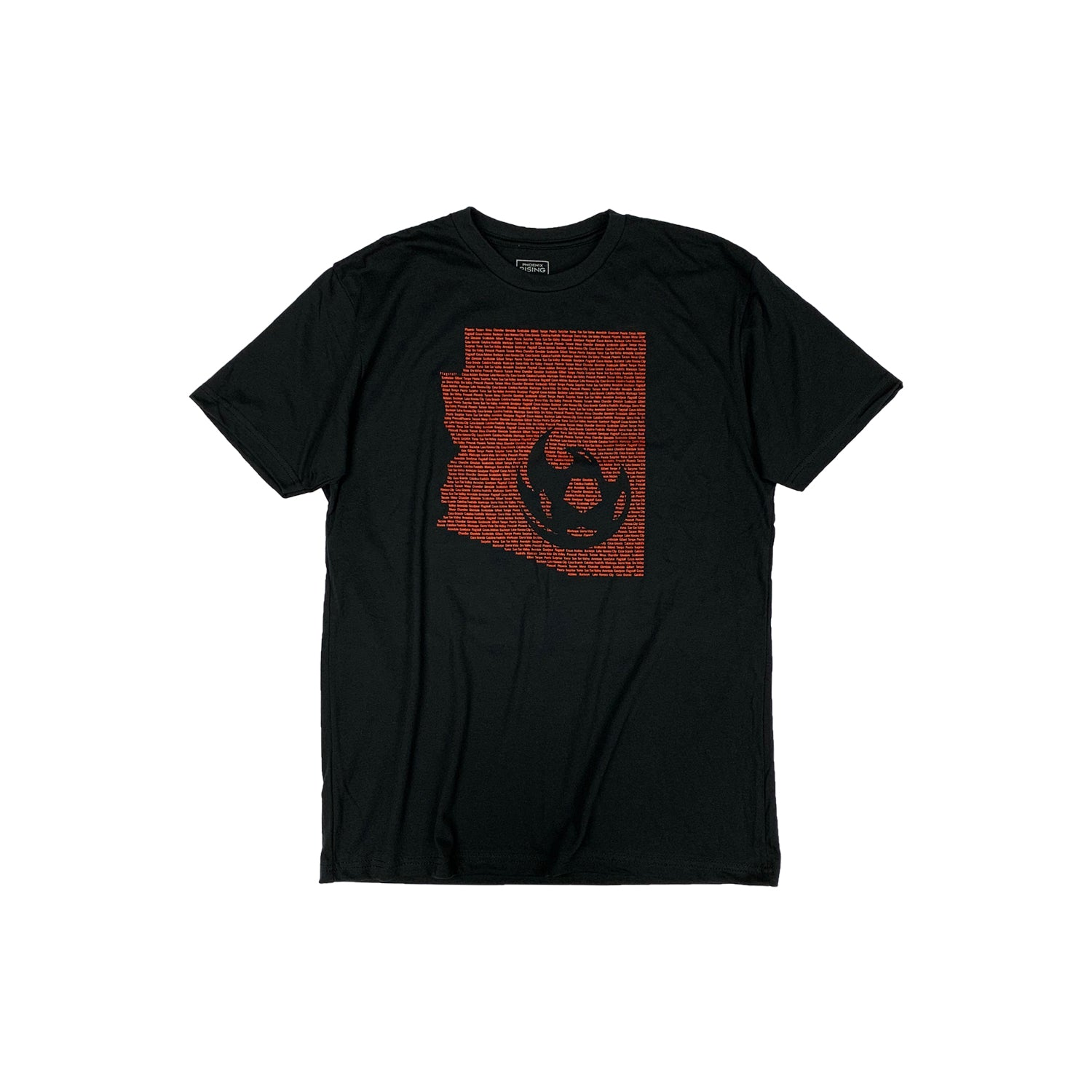 Phoenix Rising Youth All In Tee - Black