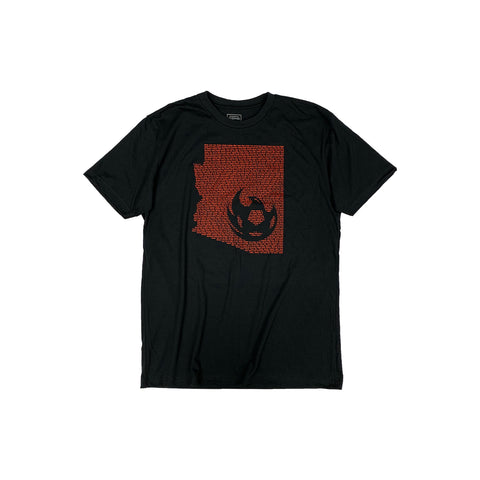 Phoenix Rising Youth Levelwear Flag Anchor Tee - Gray