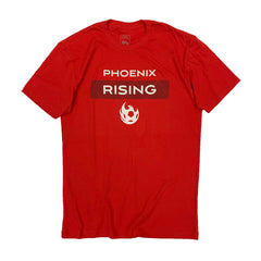 Phoenix Rising On The Pitch Tee - Red