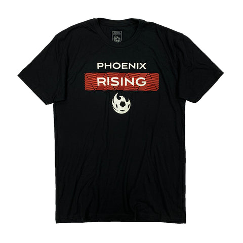 Phoenix Rising New Era Kids Black Logo Shadow Tech 9FORTY - Graphite