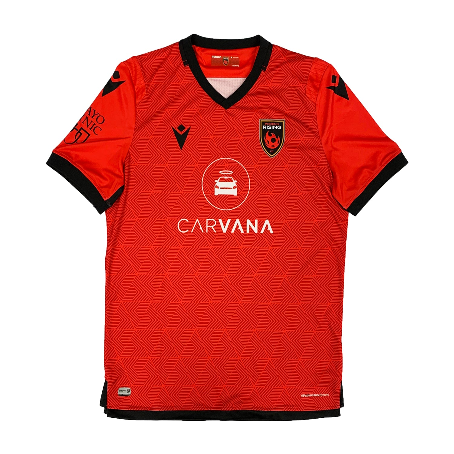 Phoenix Rising Macron 2020 Arizona Red Jersey