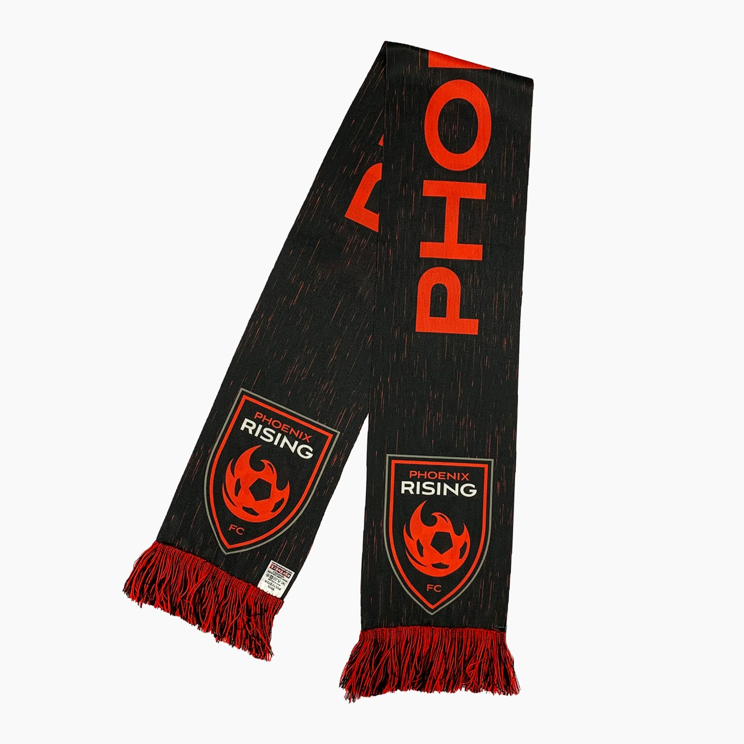 Phoenix Rising Ruffneck Third Kit Scarf - Black
