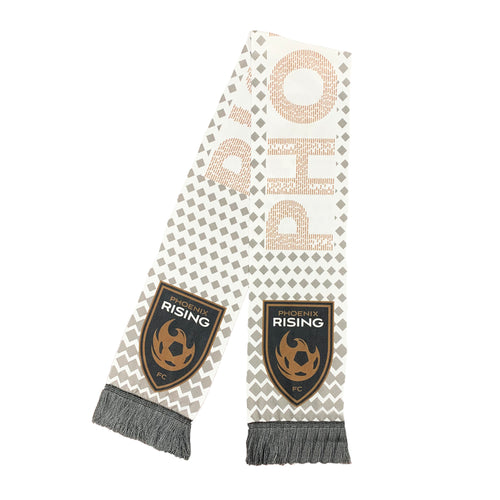Phoenix Rising Ruffneck Away Kit Scarf - White