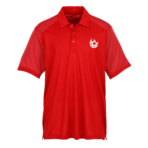 Phoenix Rising Antigua Engage White Fireball Polo - Red