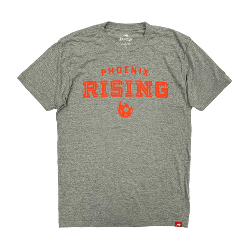Phoenix Rising Sportiqe Gray Holbrook Comfy Tee - Gray