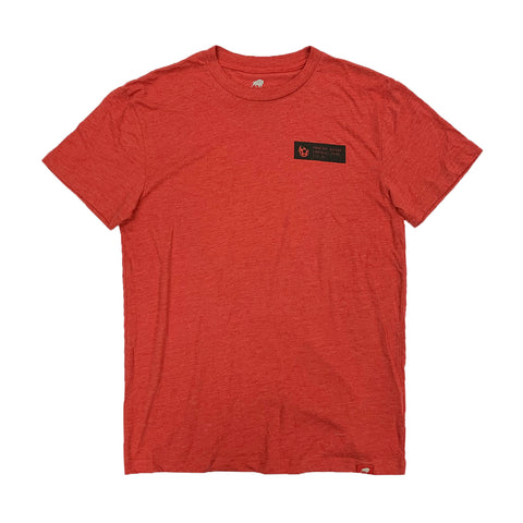 Phoenix Rising Levelwear White Shield Anchor Tee - Red