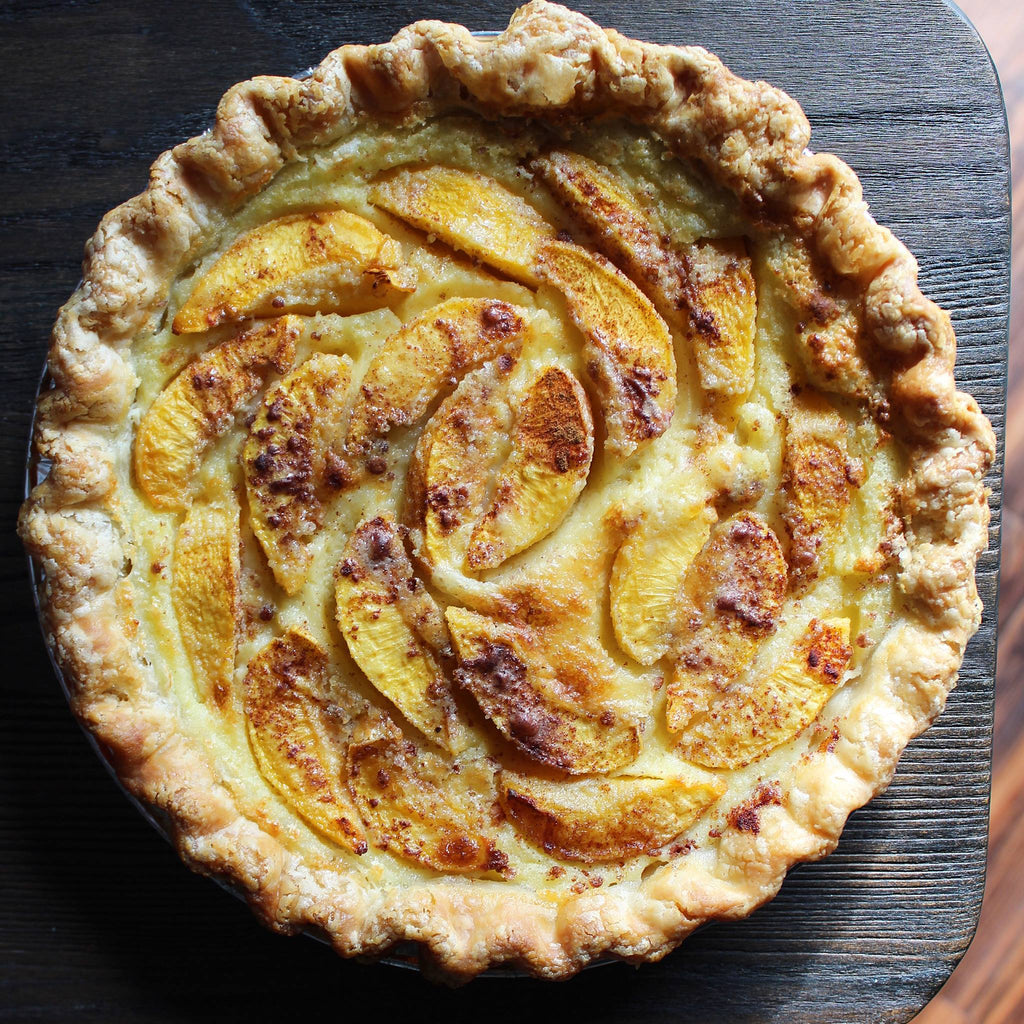 Pie Bar's Peach Buttermilk Pie Recipe