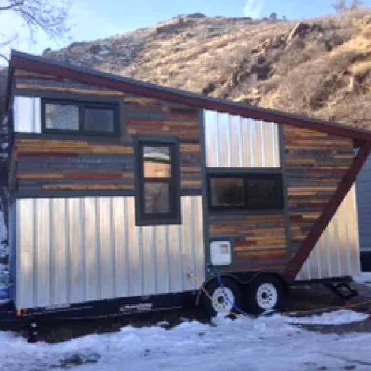 Stop 3: Denver and a Tiny House.