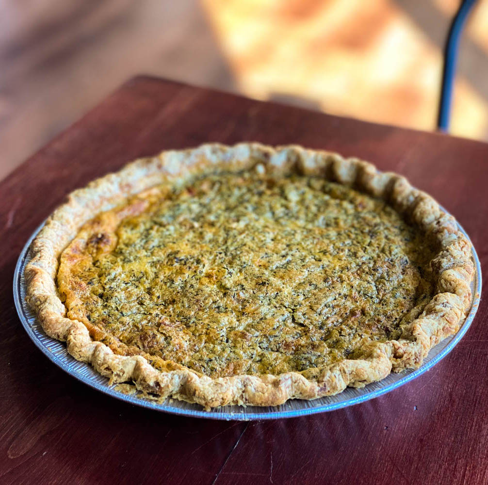 Vault Release: Take and Bake Quiche Lorraine (January 23rd ONLY!)