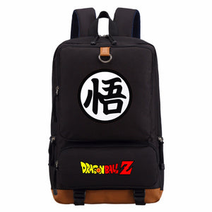 DBZ Goku Backpack School Bag